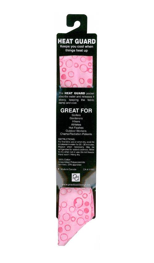 Cooling Tie - 357 Pink Batik