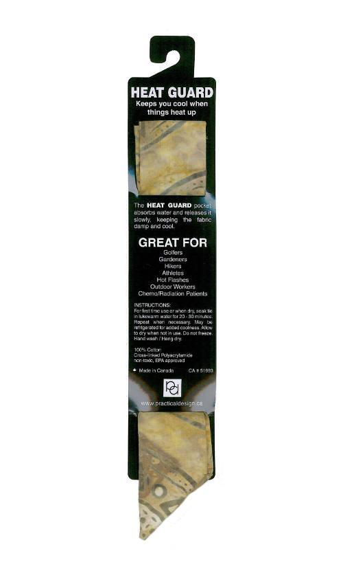 Cooling Tie - 411 Olive Batik