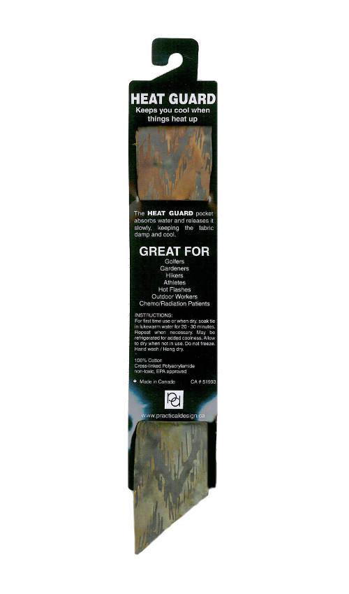 Cooling Tie - 415 Smokey Forest Batik