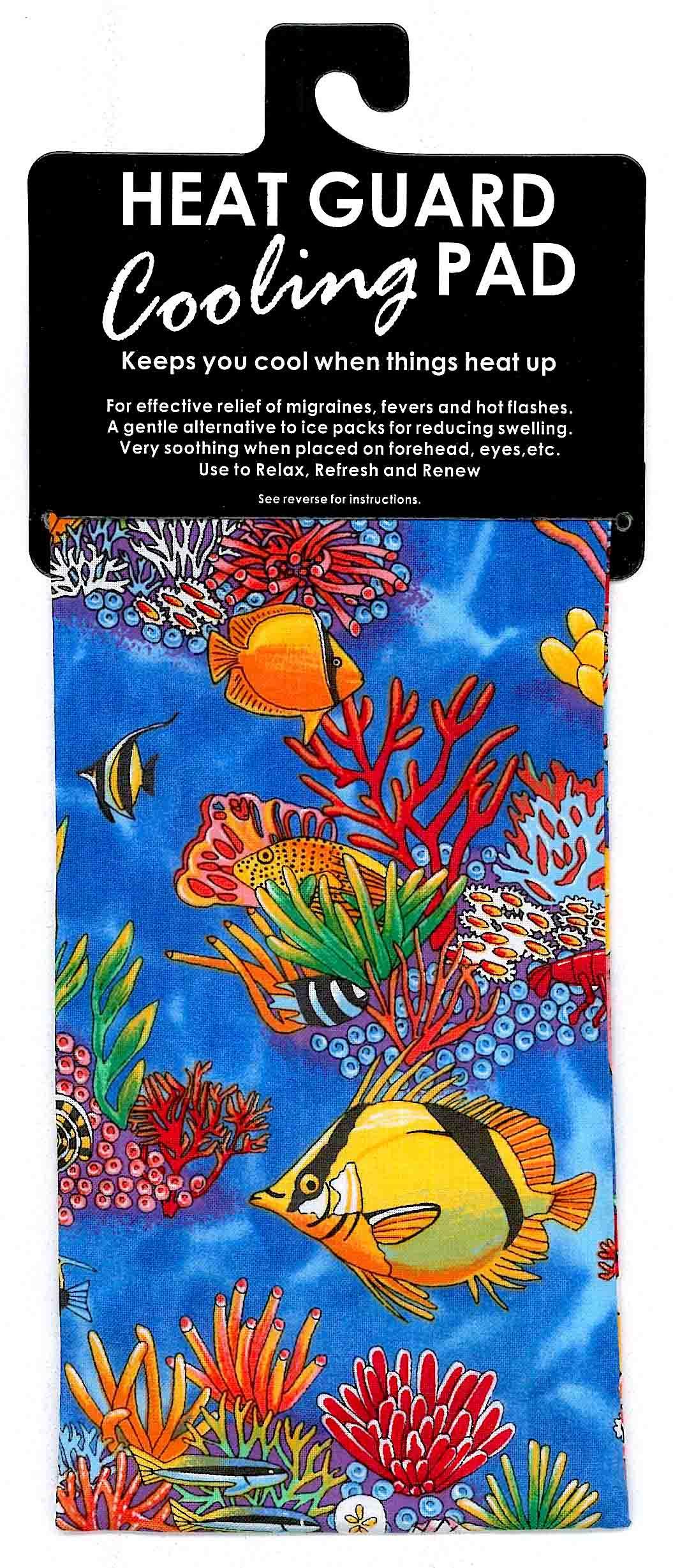 Cooling Pad - Tropical Fish