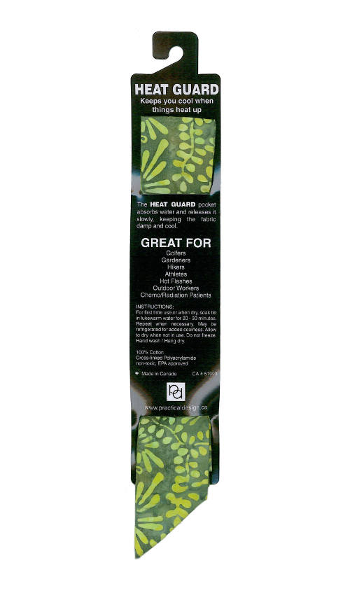 Cooling Tie - 446 Lime Forest Batik