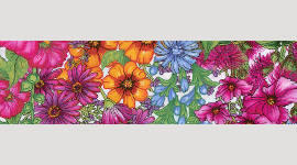Cooling Tie - 451 Spring Bouquet