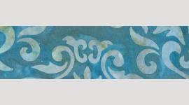 Cooling Tie - 455 Dusty Teal Batik