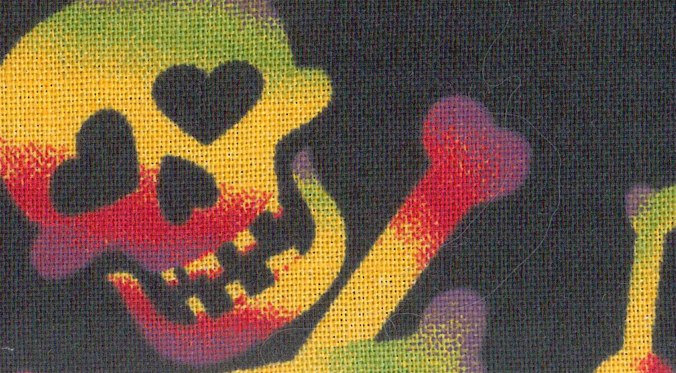 Cooling Tie - 461 Rainbow Skull
