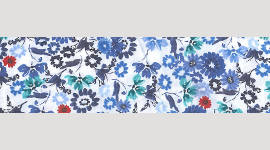 Cooling Tie - 477 Blue Daisy