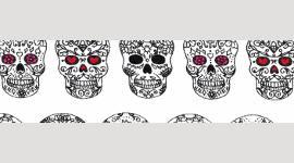 Cooling Tie - 501 Sugar Skull