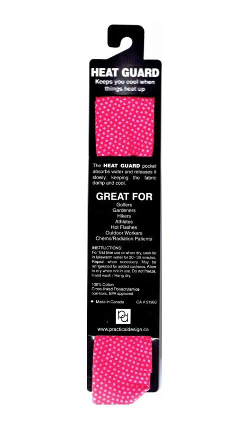 Cooling Tie - 506 Pink Dot