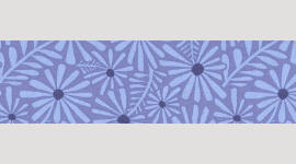 Cooling Tie - 515 Lavender Daisy