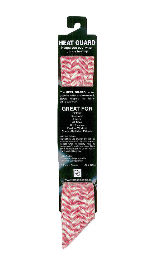 Cooling Tie - 519 Red Chevron