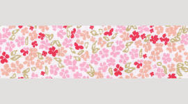 Cooling Tie - 532 Pink Mini Floral