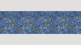 Cooling Tie - 536 Blue Green Circles