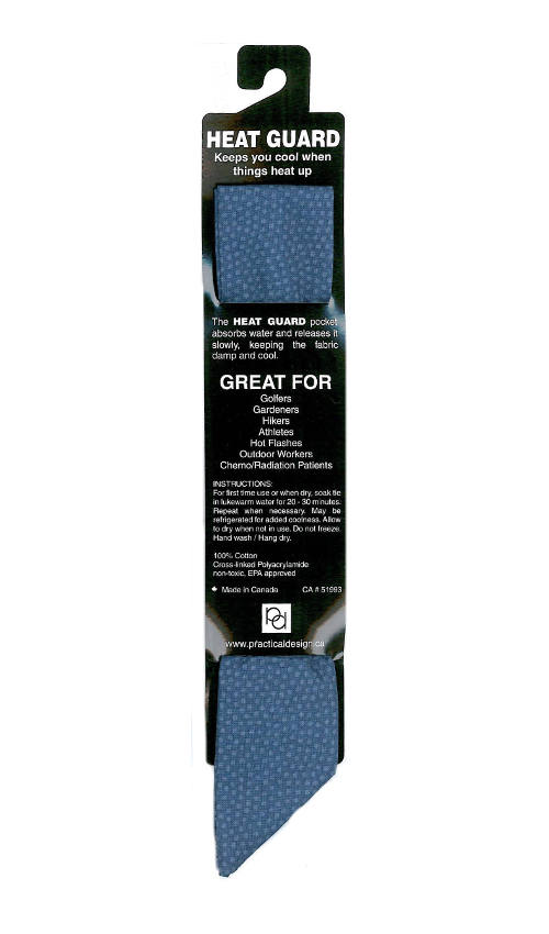 Cooling Tie - 537 Blue Dot
