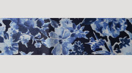 Cooling Tie - 544 Blue Garden