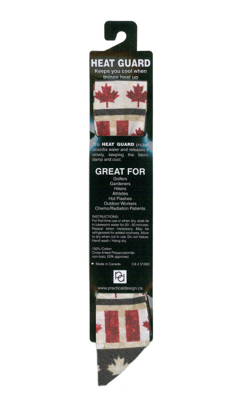 Cooling Tie - 559 Oh Canada 2