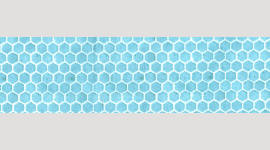 Cooling Tie - 575 Blue Honeycomb