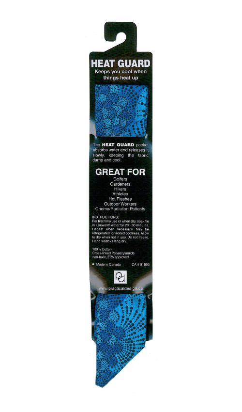 Cooling Tie - 576 Blue Coral