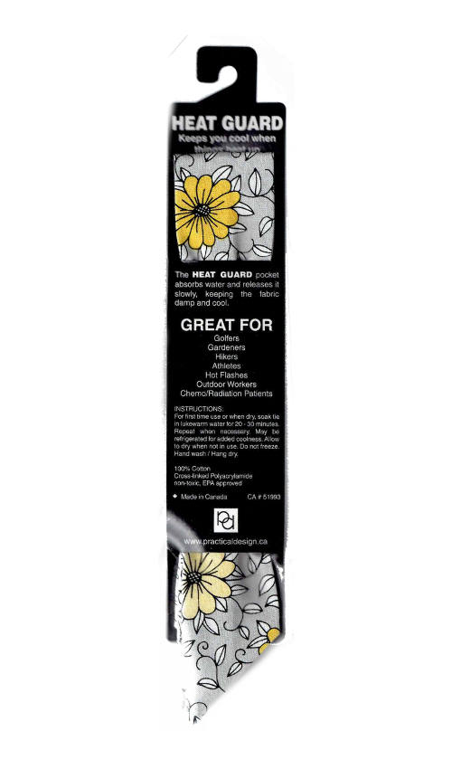 Cooling Tie - 583 Yellow Daisy