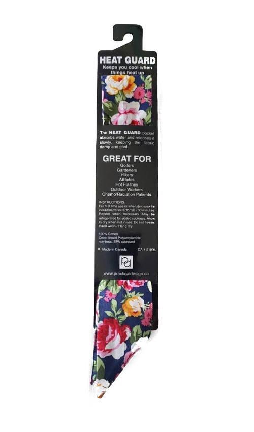 Cooling Tie - 602 Romantic Roses