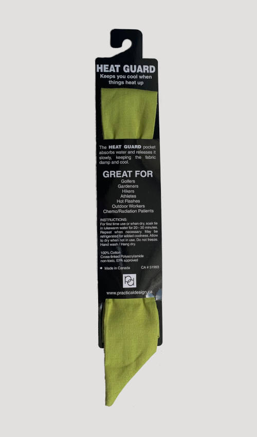 Cooling Tie - 618 Green Apple Solid