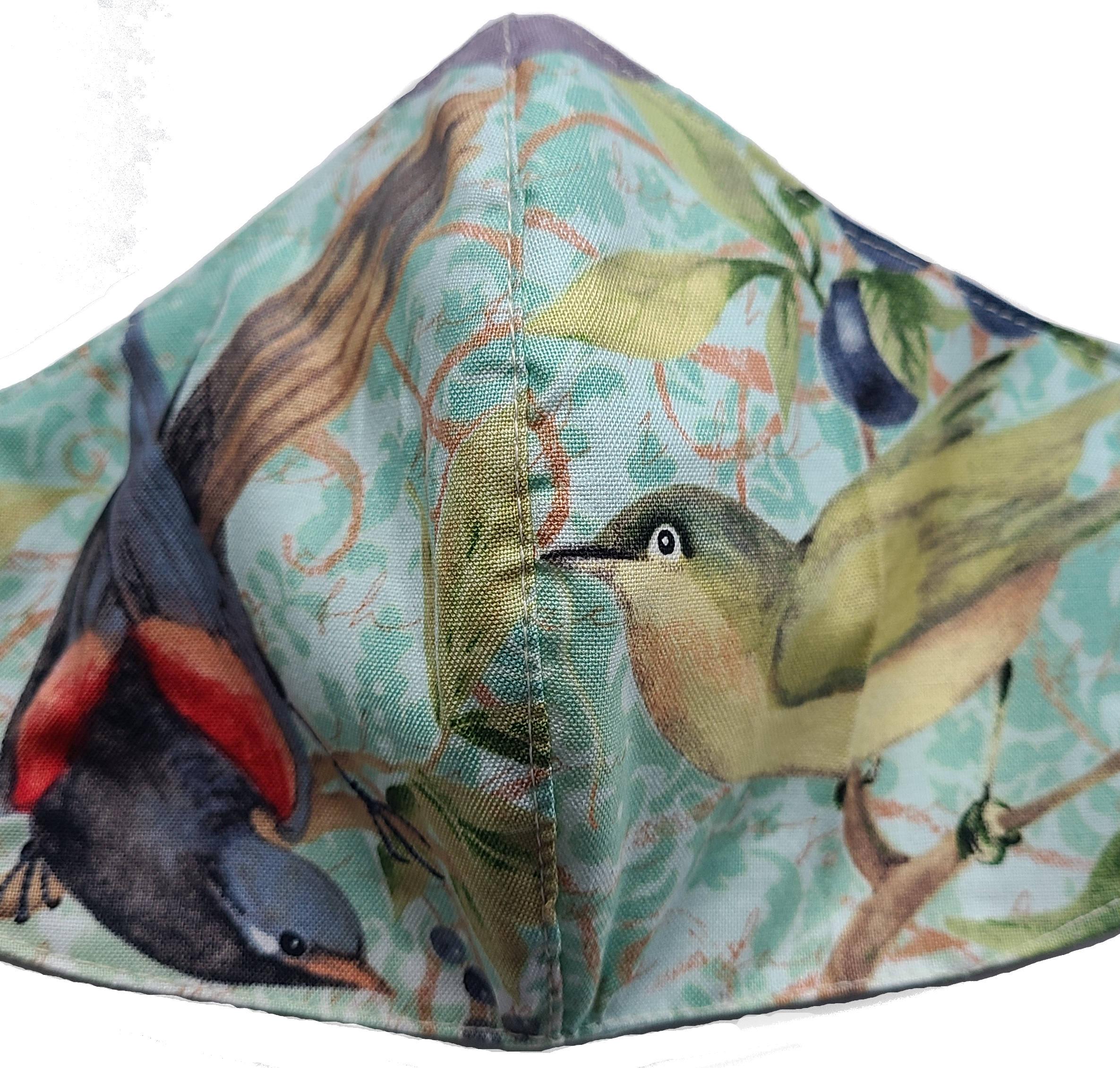 Face Mask - 628 Meadow Birds