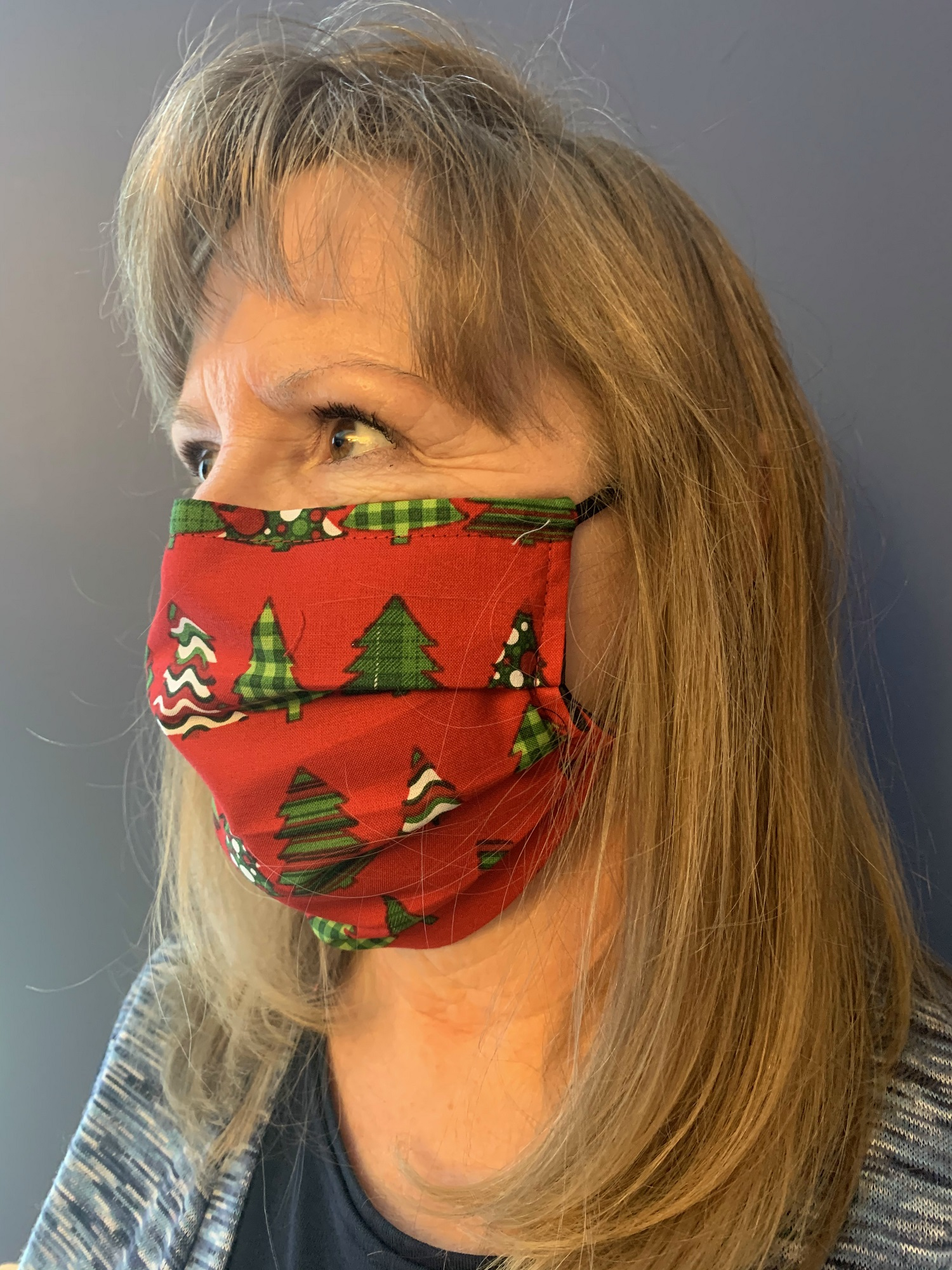 Face Mask - 631 Christmas Trees