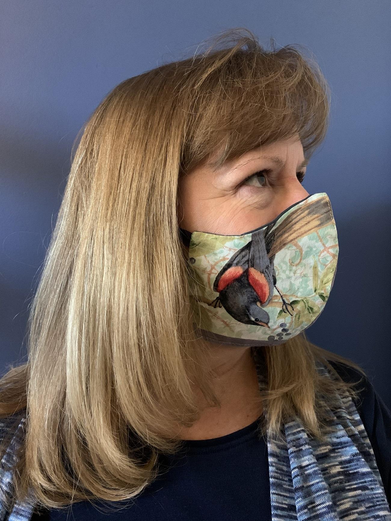 Face Mask - 636 Blue Bandana
