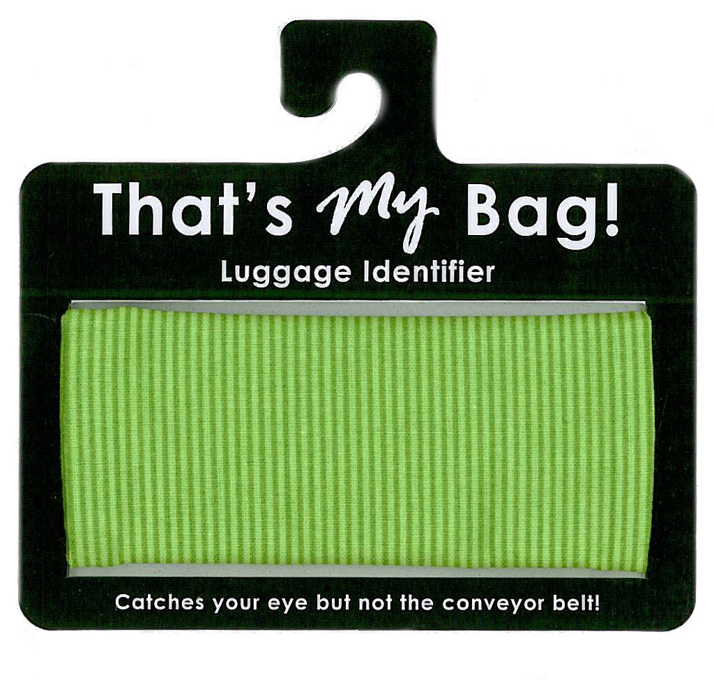 That's My Bag - L017 Green Stripes