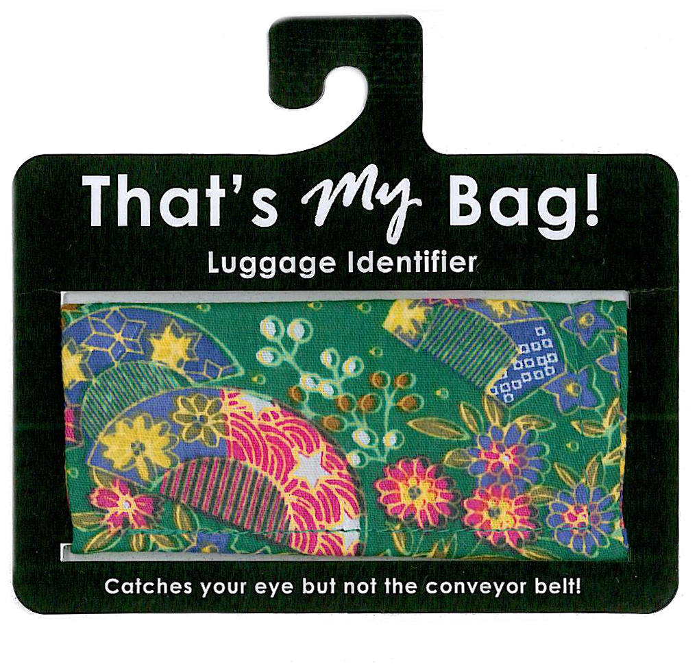 That's My Bag - L022 Green Fan