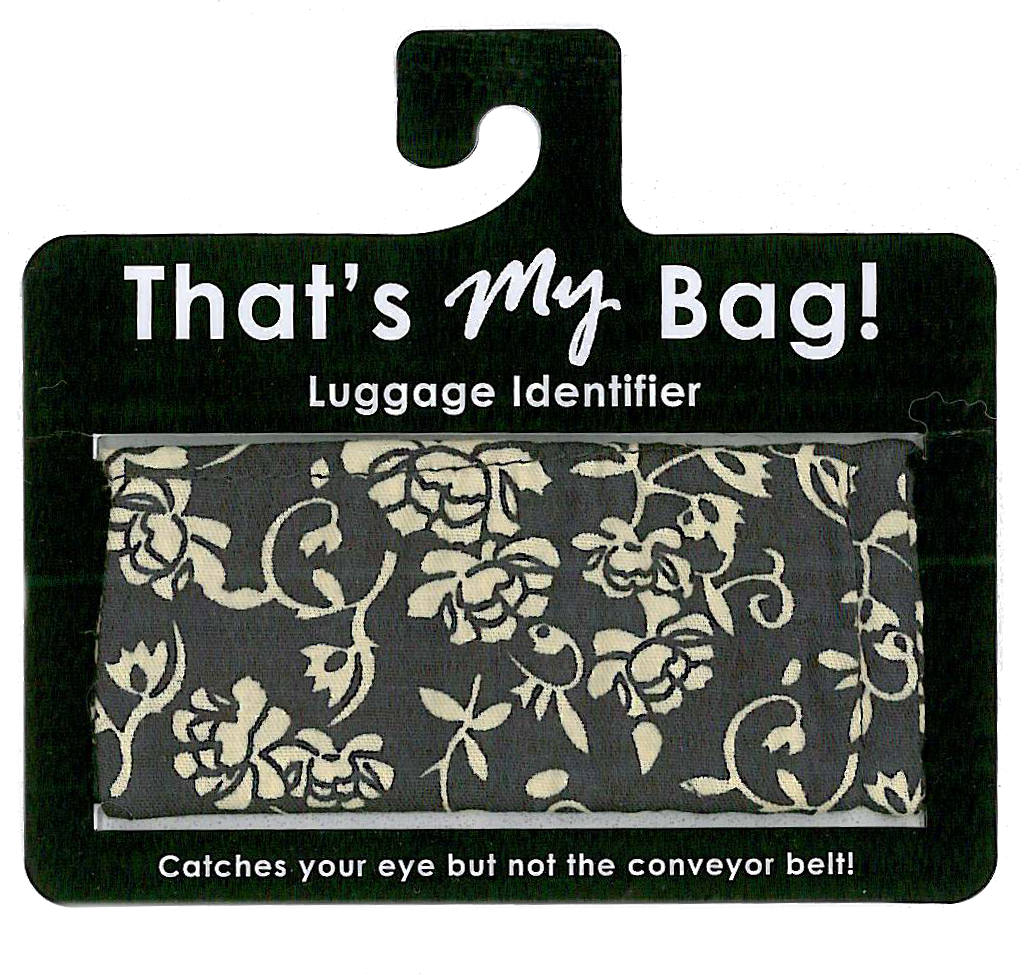 that's My Bag - L024 Black & White Flowers
