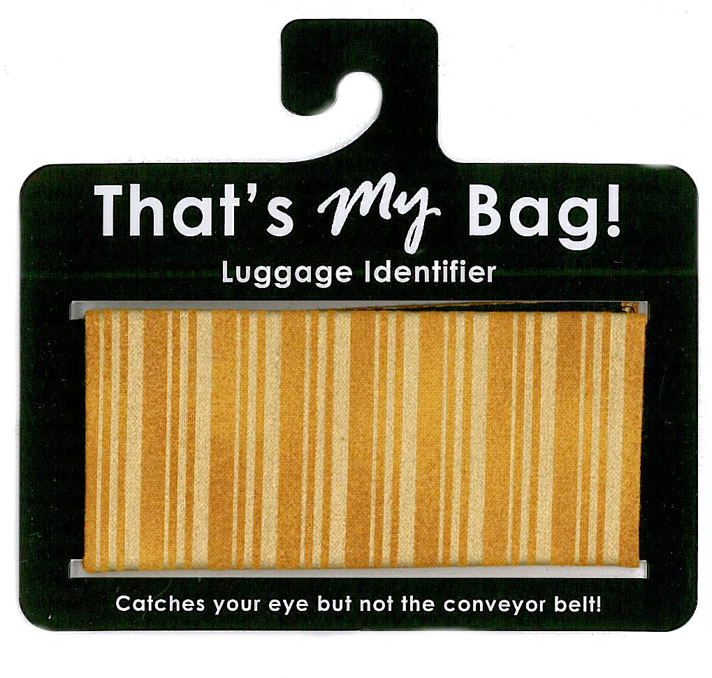 That's My Bag - L026 Gold Stripe