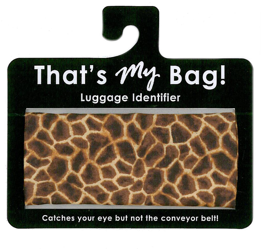 That's My Bag - L043 Giraffe Print