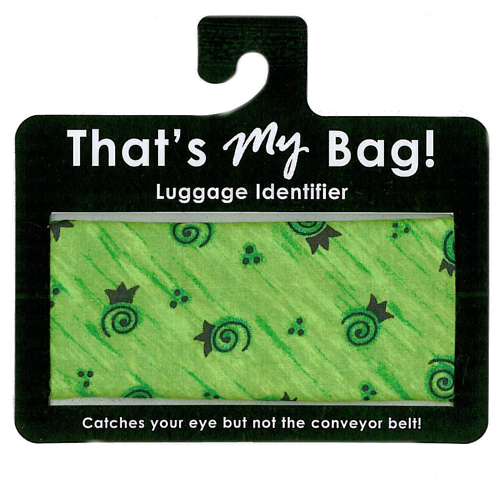 That's My Bag - L044 Green Swirls