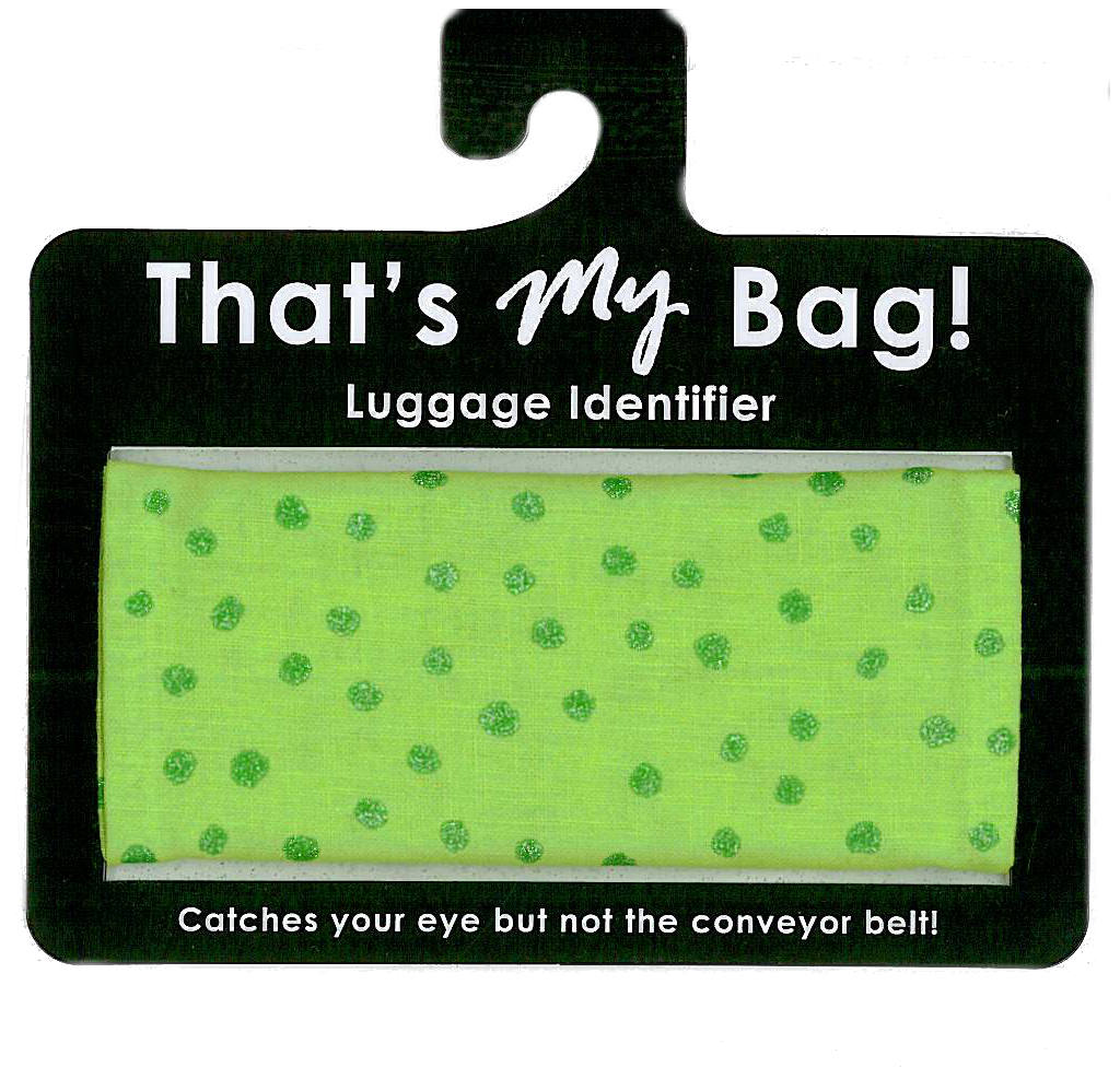 That's My Bag - L049 Green Dots