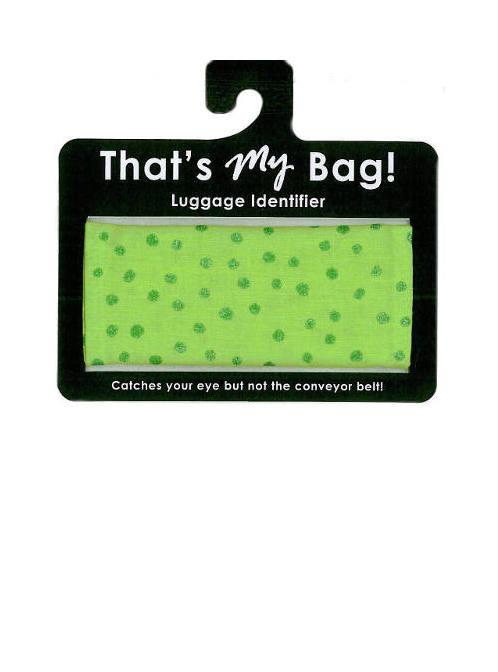 That's My Bag - L049 Green Dots