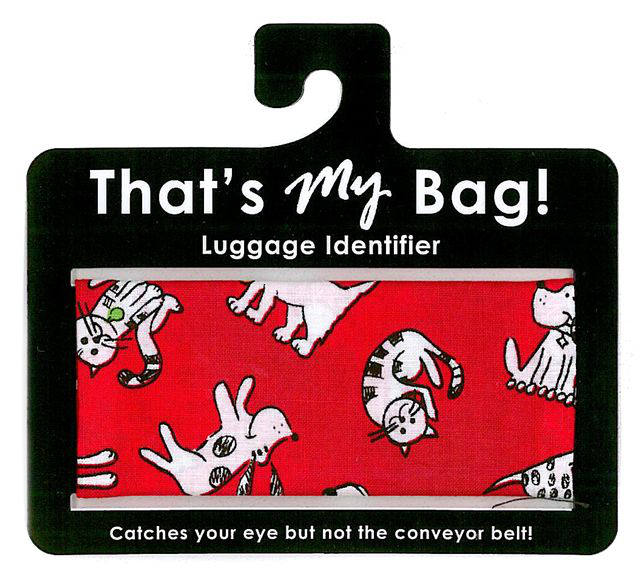 That's My Bag - L051 Red Cats & Dogs