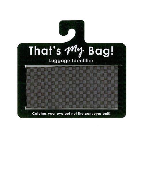 That's My Bag - L054 Black Checkers