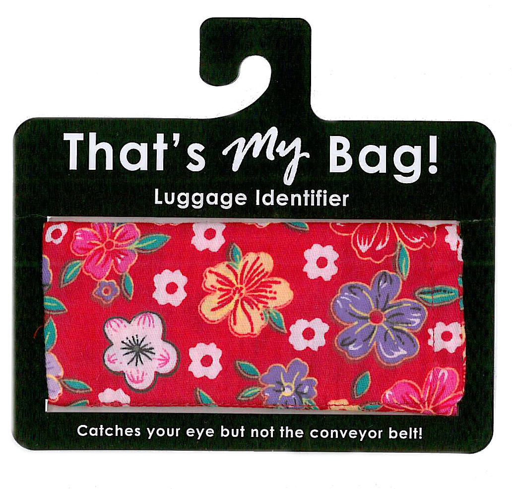 That's My Bag - L056 Red Cherry Blossoms