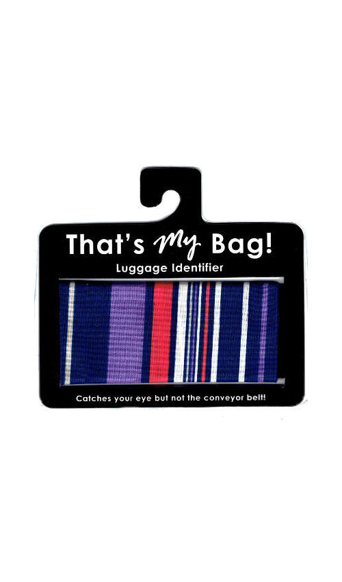 That's My Bag - L062 Purple Stripe