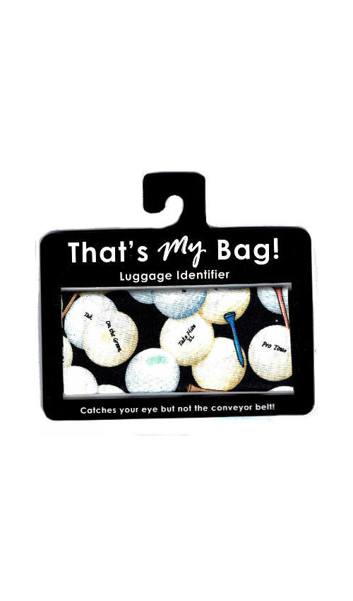That's My Bag - L064 Golf Balls & Tees