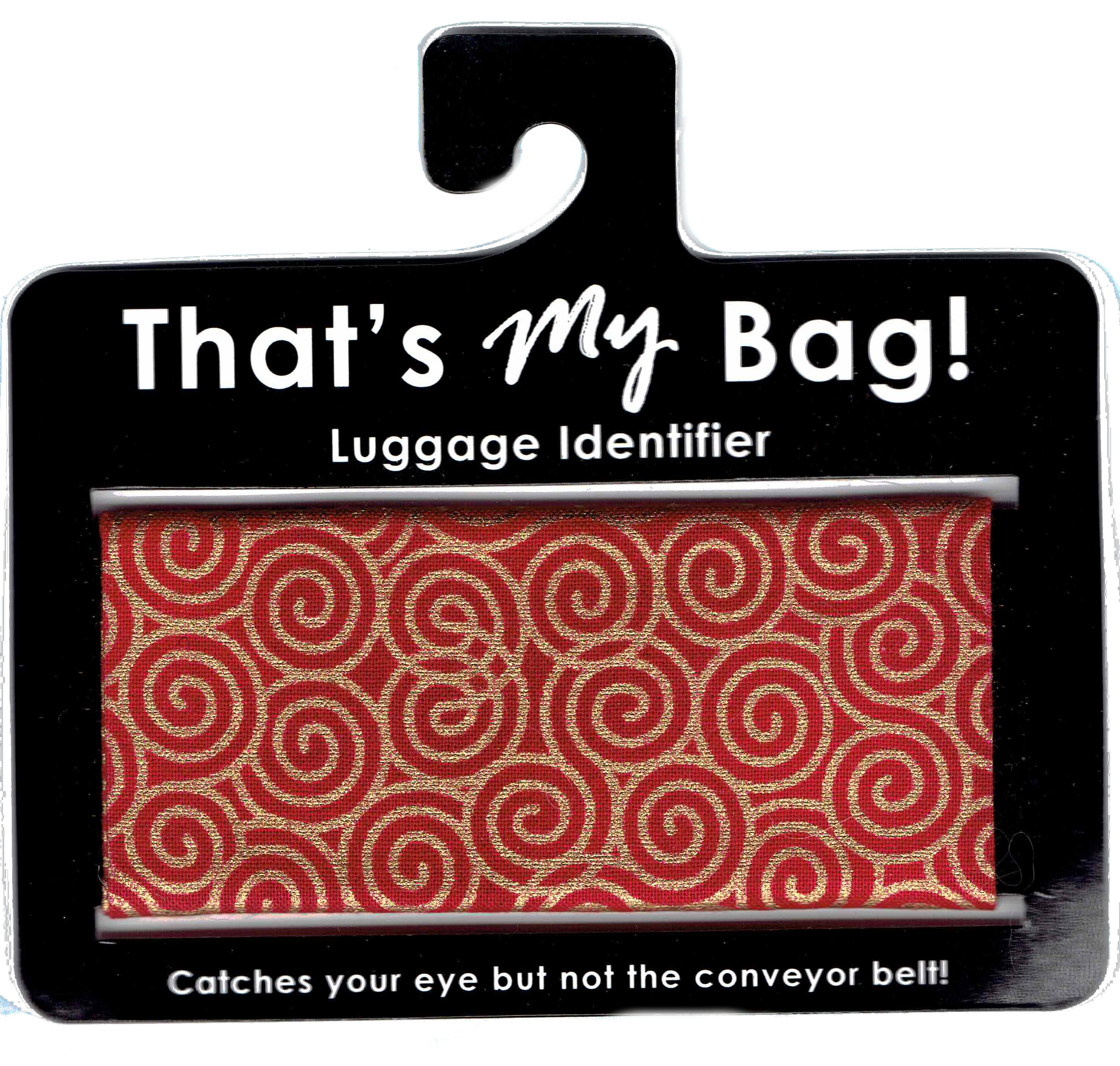 That's My Bag - L066 Red & Gold Swirls