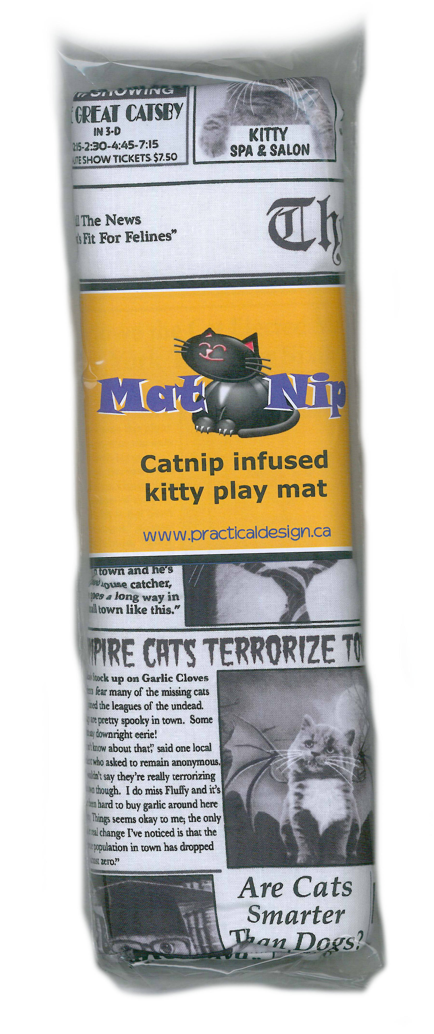 Mat Nip - Cat News